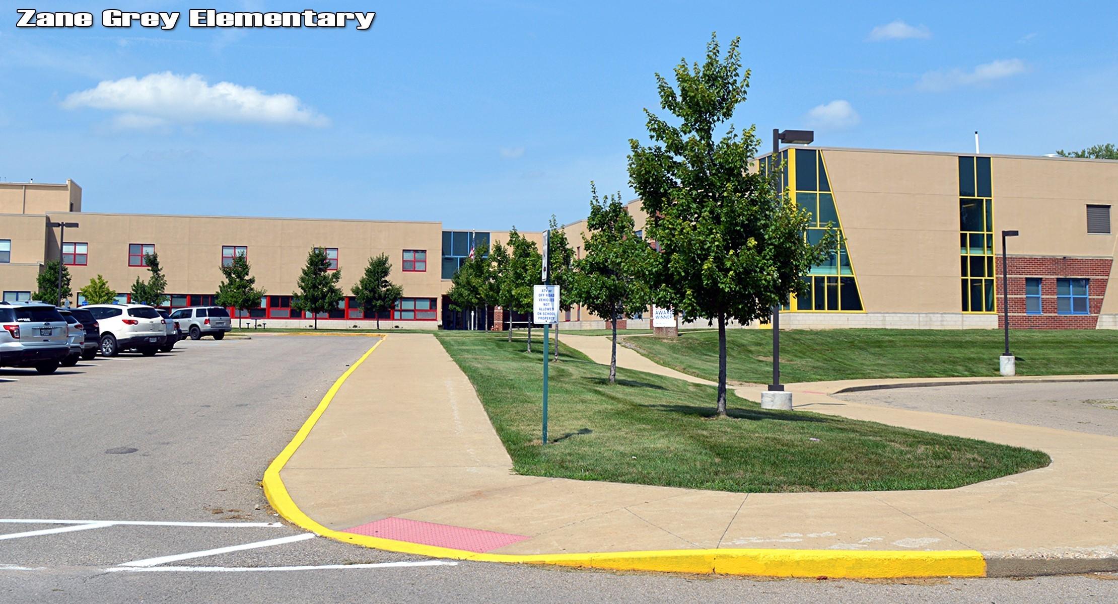 Zane Grey Elementary building