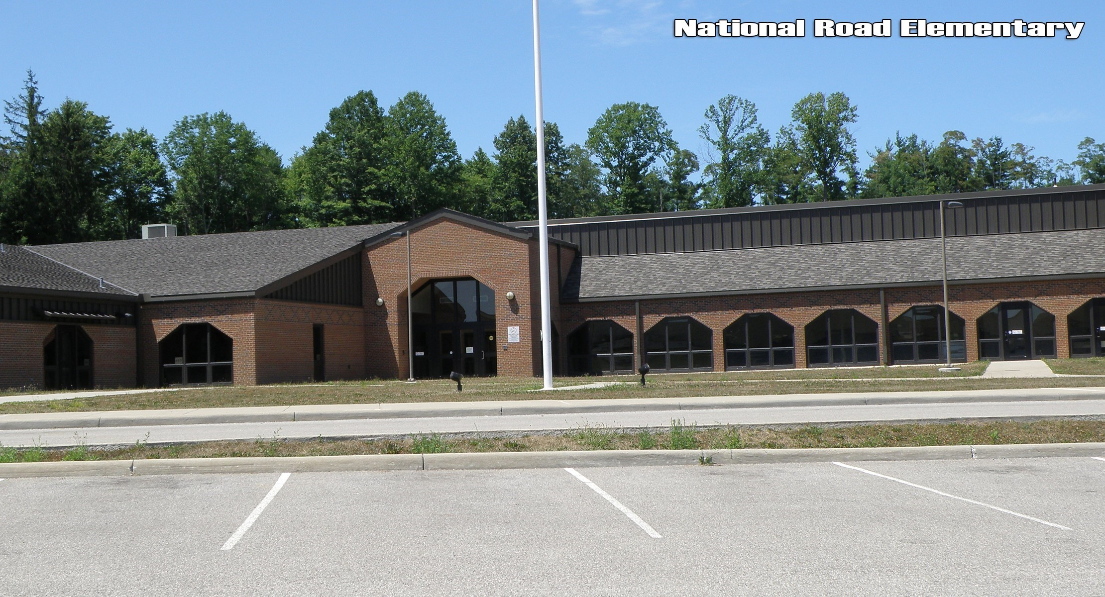 National Road Elementary building
