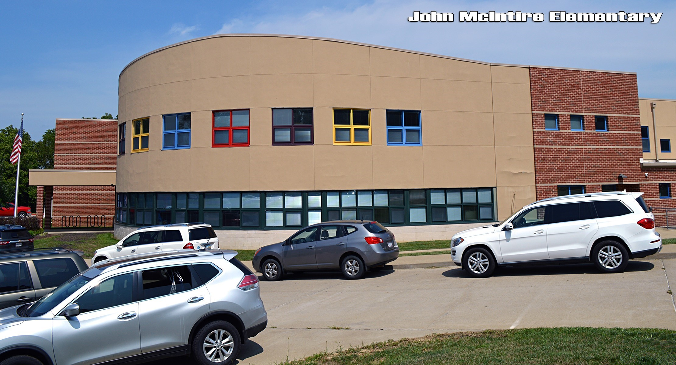 John McIntire Elementary building
