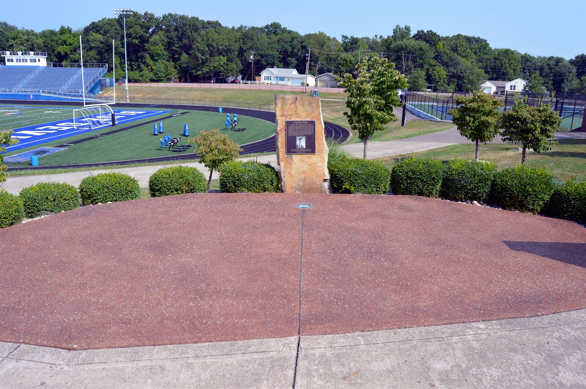 The Lee Vinsel Memorial and plaza