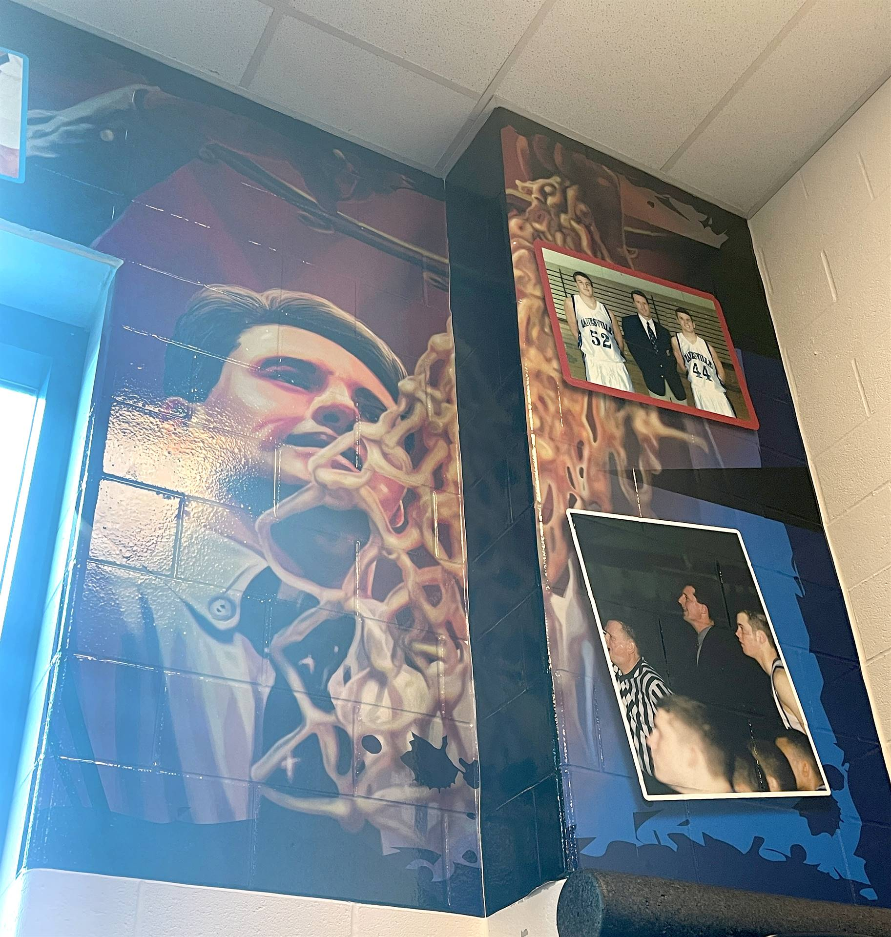 Right panel of artwork